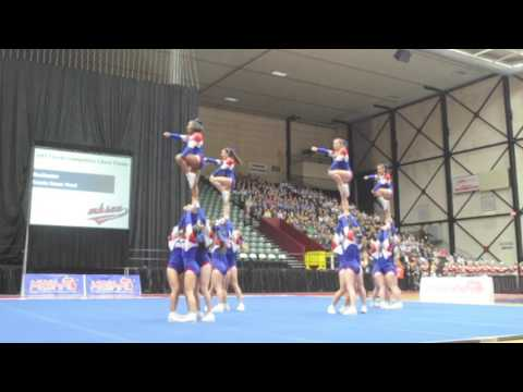 Rochester wins 2017 Division 1 Competitive Cheer title