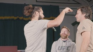 UFC London: Open Workout Recap