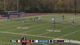 Boys' soccer highlights: Waterford 3, East Lyme 0