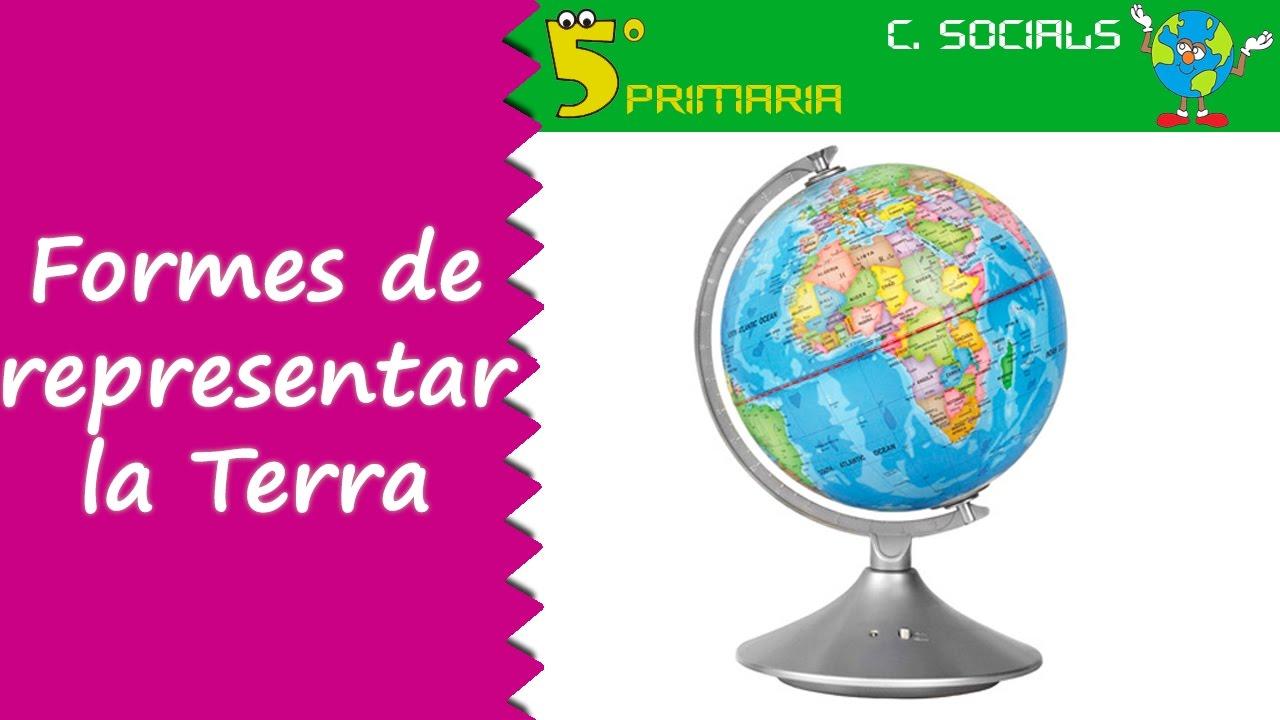 Representar la Terra. Socials, 5é Primària. Tema 2