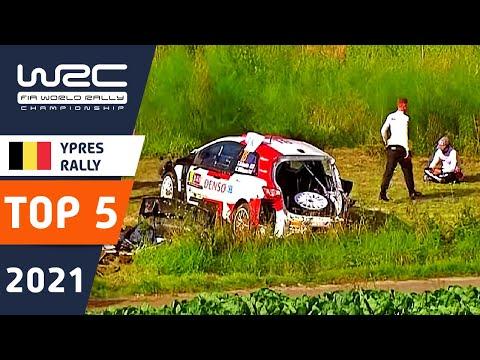 WRC 2021 WRC第8戦 ラリー・ベルギー クラッシュ映像
