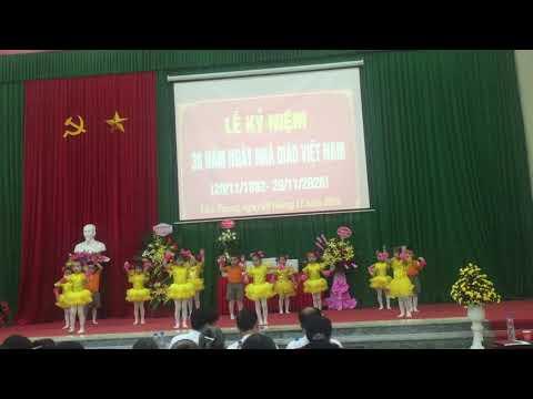 Tiết mục văn nghệ chào mừng Ngày Nhà giáo Việt Nam 20.11