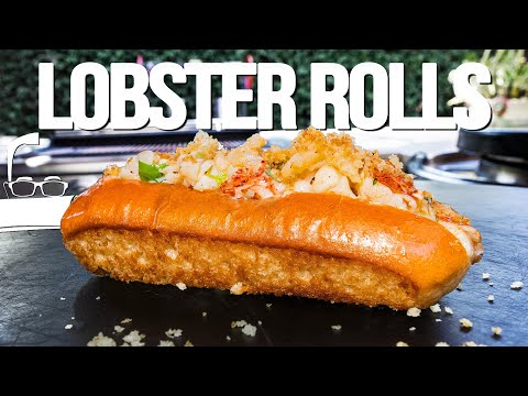 WARM & BUTTERY LOBSTER ROLLS AT HOME | SAM THE COOKING GUY