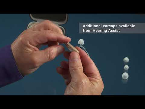 ReCharge! Behind the Ear Hearing Aid — Changing the Ear Cap