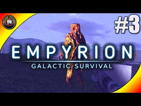 Empyrion Galactic Survival Let's Play - Ep  3 - Alien and Drones Attack -  Gameplay Alpha 1 1 (S9) - GameEdged