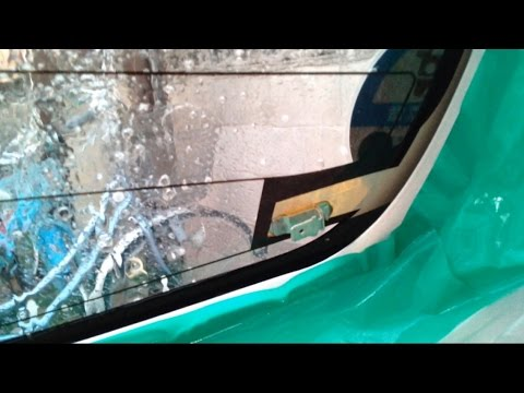 かんたん!車のカーフィルムの貼り方(後編)ウインドウフィルム