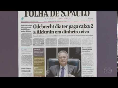Delatores da Odebrecht citam caixa 2 em campanhas de Alckmin