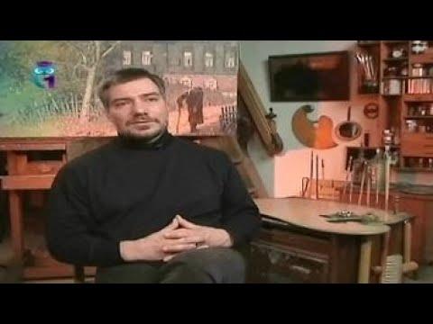Антон Стекольщиков, русский художник-реалист, художник в третьем поколении