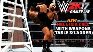 WWE 2K17 Concept/Idea: New Hell in a Cell with Weapons: Batista vs Big Show