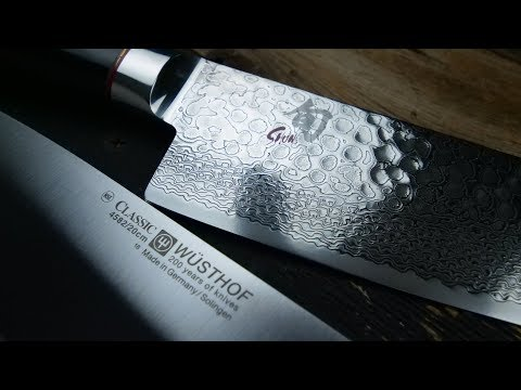 Japanese vs German Knives – Shun vs Wusthof Cutlery