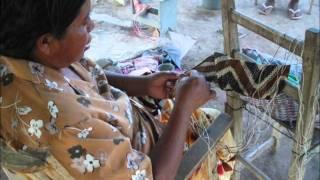先住民ニバクレ族の民芸品