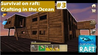 survival on raft crafting in the ocean - Free video search site