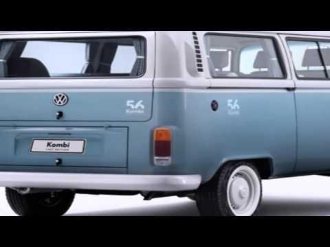 Volkswagen dobra unidades de edição de despedida da Kombi
