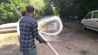 HOW TO USE FIRE HYDRANT | USE OF HYDRANT HOSE PIPE DURING FIRE