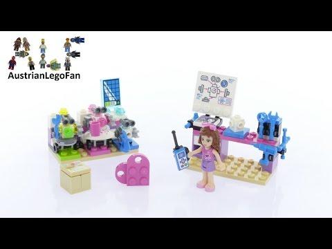 Vidéo LEGO Friends 41307 : Le labo créatif d'Olivia