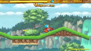 Game Doremon Dua Xe Oto