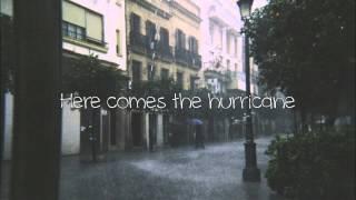 Hurricane (Acoustic) - Parachute (Lyrics)