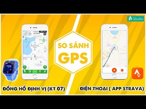 So sánh GPS giữa đồng hồ định vị và điện thoại - Giải đáp 1001 câu hỏi về đồng hồ định vị trẻ em
