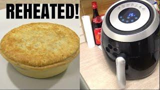 How To Reheat Frozen Meat Pie In An Air Fryer