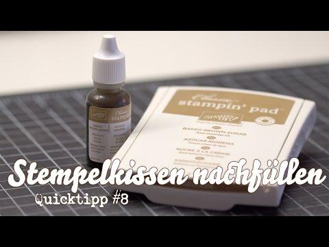 PRODUKT - Stempelkissen nachfüllen - QuickTipp #8