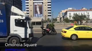 Greek architects see red over grey Omonoia square