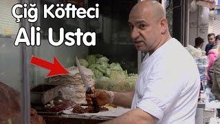 Meşhur Çiğ Köfteci Ali Usta I Bıçak çekip kovdu bizi!