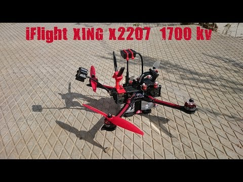 iFlight XING X2207 1700KV Это супер моторы! These are super motors!