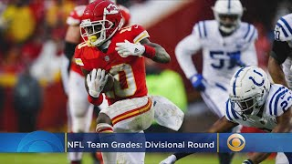 NFL Team Grades Divisional Playoffs
