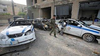 Iraqi policemen killed in Baghdad car bombing