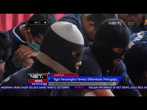 79 Kasus Kriminal Jalanan Di Kota Lampung Akhirnya Dibekuk Polisi-NET5
