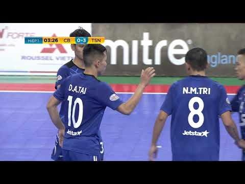 Giải futsal VĐQG 2019: Cao Bằng vs Thái Sơn Nam (1-7)