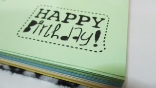 DIY #117 | Birthday Gift Notebook ♥