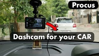 Car Dash Cam Review || Procus CONVOY