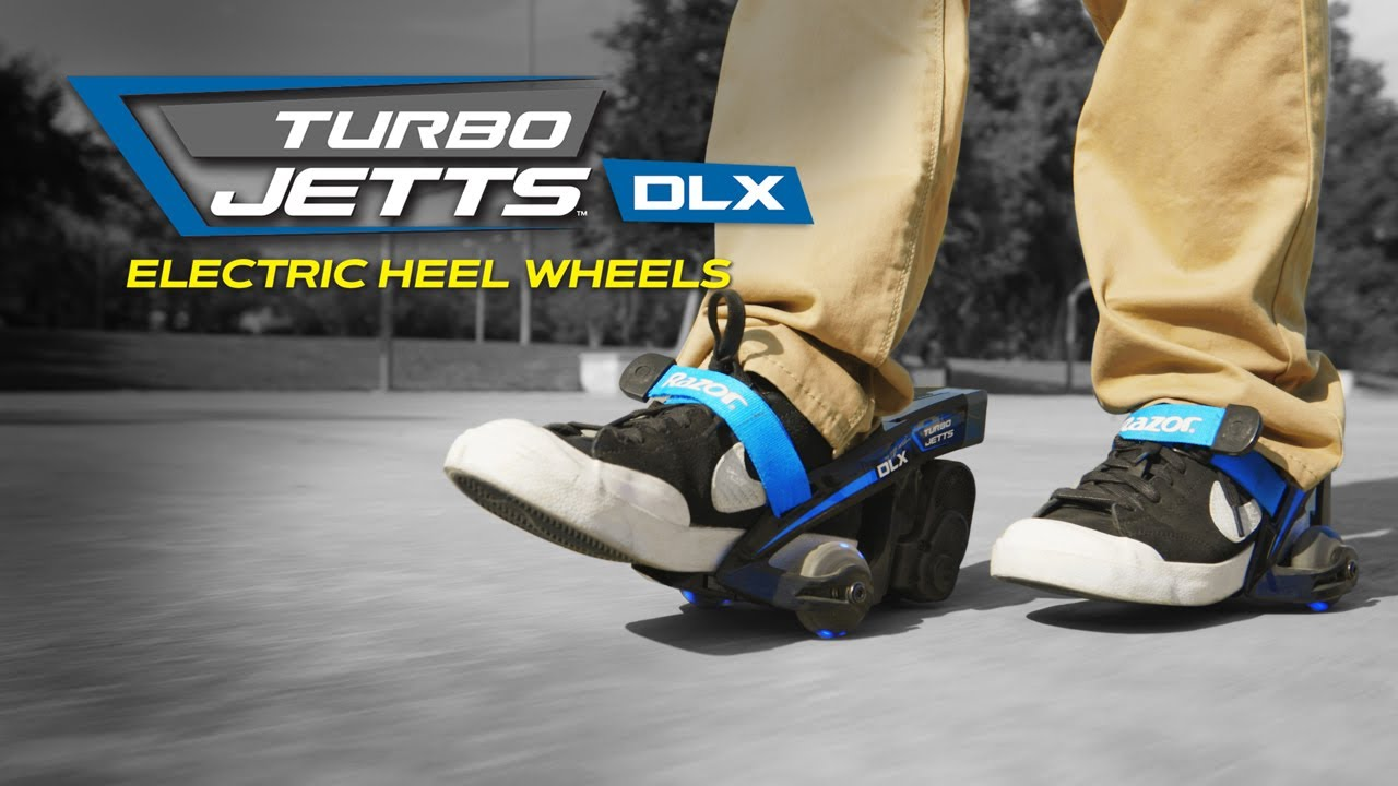 Razor Turbo Jetts DLX Ride Video