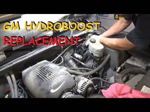 GM Truck: Hydroboost Hydraulic Brake Booster - Remove & Replace