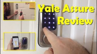 Yale Assure Touchscreen Deadbolt Review (YRD426)