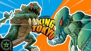 Reptar vs. Zoidberg - King of Tokyo: Power Up - Let's Roll