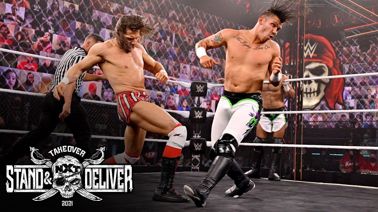 "MSK Wins The Vacant NXT Tag Team Titles At WWE NXT ""takeover: Stand And Deliver"" Night One"