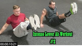 Intense 5 Minute At Home Lower Ab Workout #2 by Anabolic Aliens