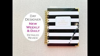 DAY DESIGNER WEEKLY & DAILY PLANNER REVIEW