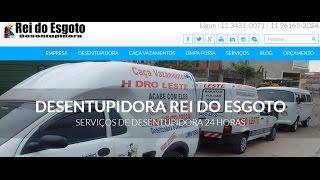 DESENTUPIDORA EM SÃO BERNARDO|11 3452 4222|REI DO ESGOTO