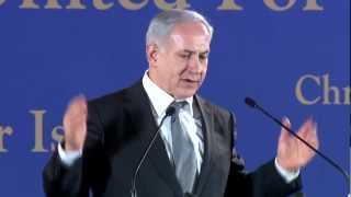 "PM Netanyahu's Speech @ ""Christians United For Israel"" Conference 2012"