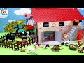 Farm Barn Playset With Fun Animals Toys For Kids