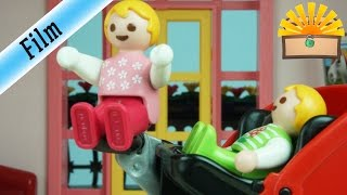 SCHLIMMER UNFALL DER ZWILLINGE  FAMILIE Bergmann 68  Playmobil Film Deutsch Geschichte