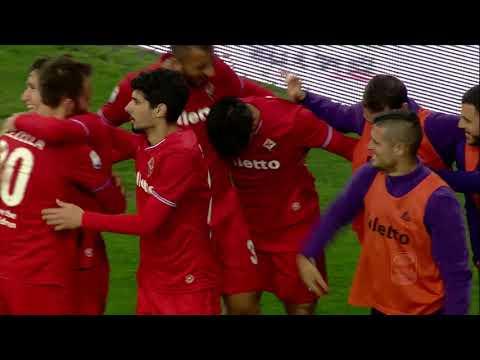 Il gol di Simeone – Udinese – Fiorentina 0-2 – Giornata 27 – Serie A TIM 2017/18