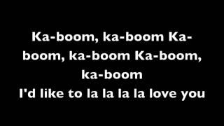 Ka-Boom Ka-Boom-paroles-Marilyn Manson