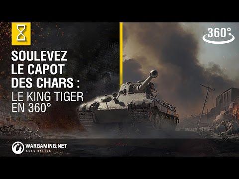 Soulevez le capot des chars: le King Tiger - VR 360