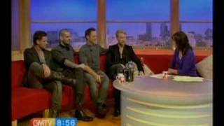 "Boyzone on GMTV - Interview and first ever performance of ""Gave it all Away""."