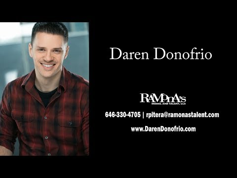 Commercial Demo Reel - Please visit DarenDonofrio.com and imdb.me/DarenDonofrio.com for additional media.