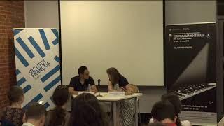 Он-лайн трансляция встречи с продюсером Фредериком Руссо